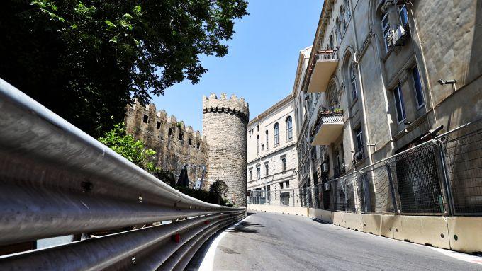 F1 GP Azerbaijan 2021, Baku: Atmosfera del circuito