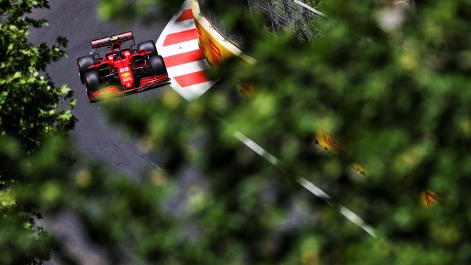 F1 GP Azerbaijan 2021, Baku: Carlos Sainz (Scuderia Ferrari)