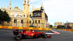 F1 GP Azerbaijan 2021, Baku: Charles Leclerc (Ferrari)