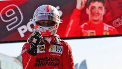 F1 GP Azerbaijan 2021, Qualifiche: Leclerc! Ferrari in pole
