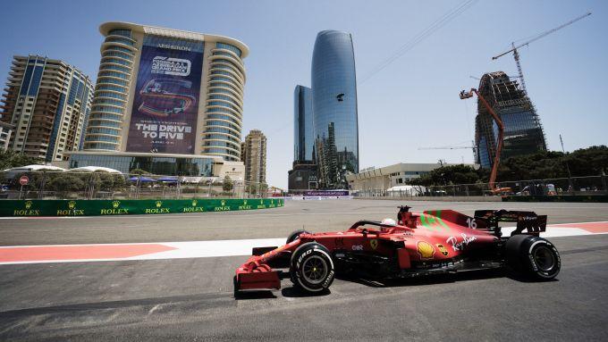 F1 GP Azerbaijan 2021, Baku: Charles Leclerc (Scuderia Ferrari)