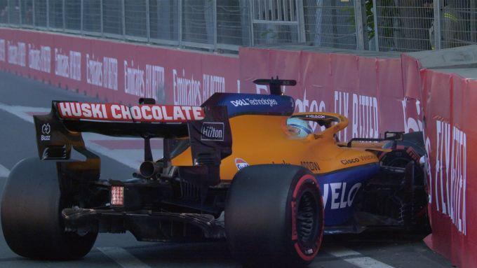 F1 GP Azerbaijan 2021, Baku: Daniel Ricciardo (McLaren F1 Team)