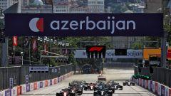 F1 GP Azerbaijan 2021, Baku: la partenza della gara