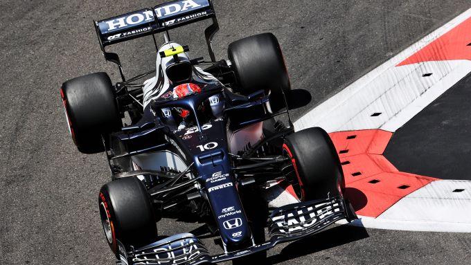 F1 GP Azerbaijan 2021, Baku: Pierre Gasly (Scuderia AlphaTauri)