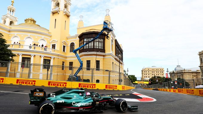 F1 GP Azerbaijan 2021, Baku: Sebastian Vettel (Aston Martin Racing)