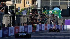 F1 GP Azerbaijan 2021, Gara: Perez trionfa su Vettel e Gasly