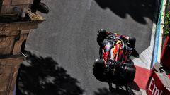 F1 GP Azerbaijan 2021, PL2: Perez al top, muro Leclerc