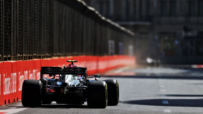 F1 GP Azerbaijan 2021, Baku: Valtteri Bottas (Mercedes AMG F1)