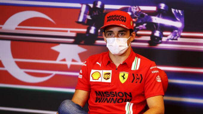 F1, GP Azerbaijan 2021: Charles Leclerc in conferenza stampa
