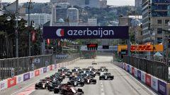 GP Azerbaijan 2021, ascolti tv