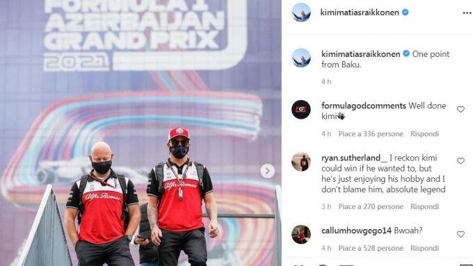 F1, GP Azerbaijan 2021: l'Ermetico Kimi