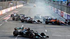 La Mercedes si prende le colpe per l'errore di Hamilton