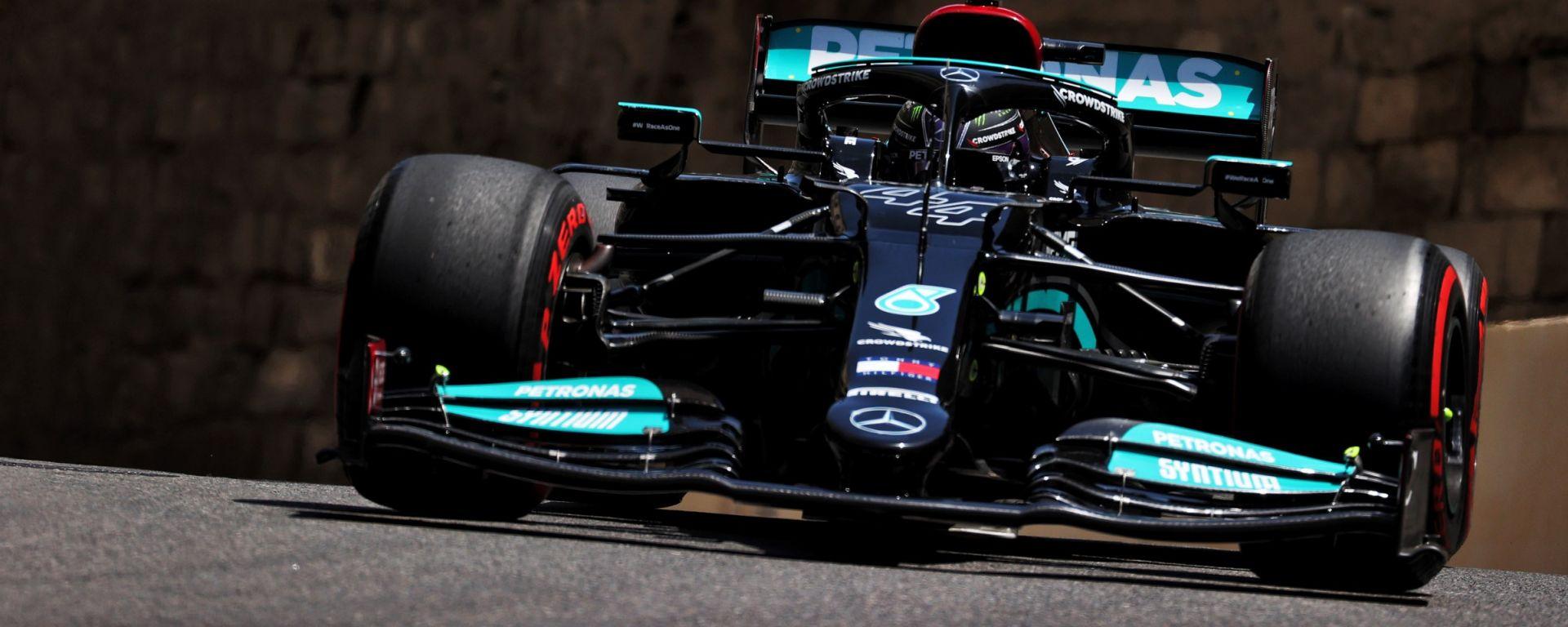 F1, GP Azerbaijan 2021: Lewis Hamilton (Mercedes)