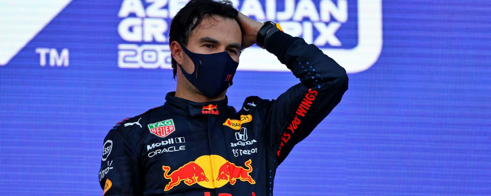 F1, GP Azerbaijan 2021: Sergio Perez (Red Bull)