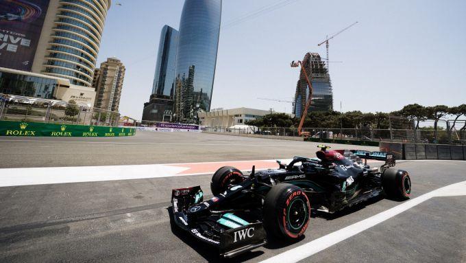 F1, GP Azerbaijan 2021: Valtteri Bottas (Mercedes)