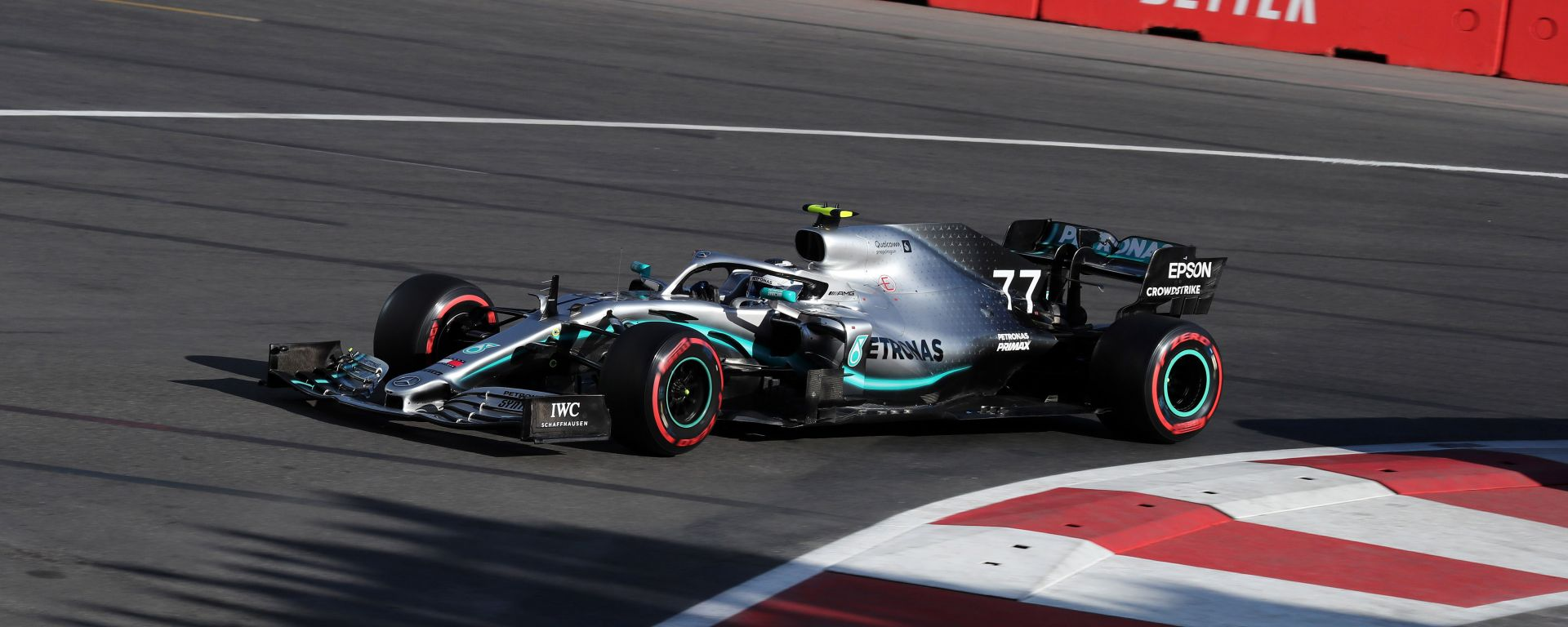 F1 Gp Azerbaijan 2019 - Qualifiche: Zampata Bottas, prima fila Mercedes