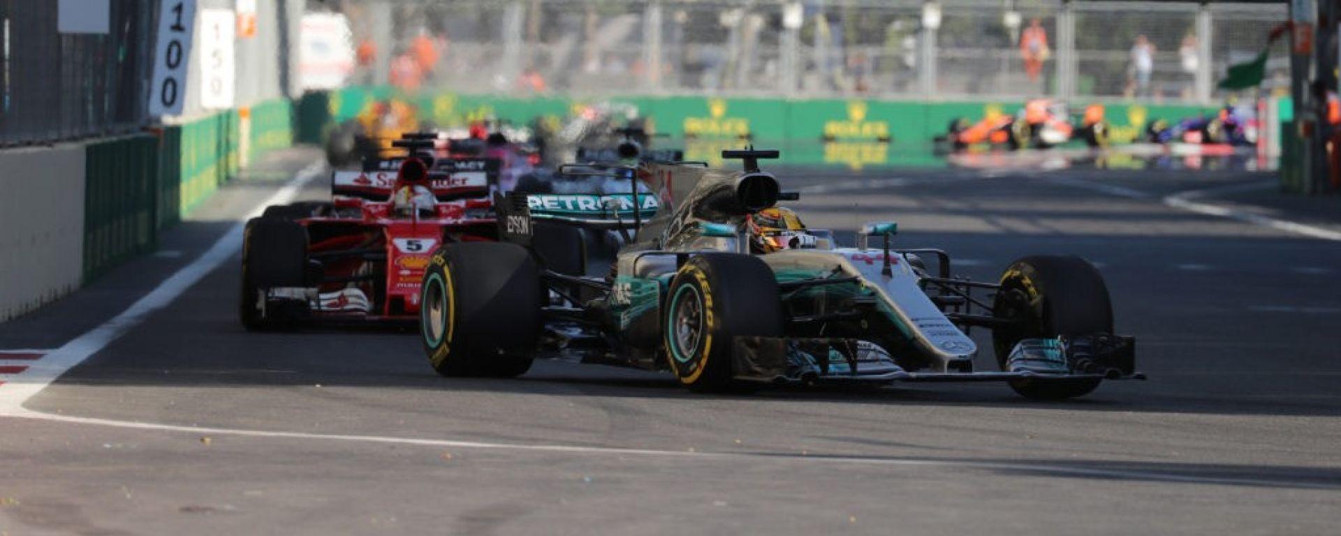 F1 GP Azerbaijan, l'edizione 2017