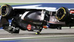 F1 GP Bahrain 2014, Sakhir: il clamoroso incidente di Esteban Gutierrez (Sauber)