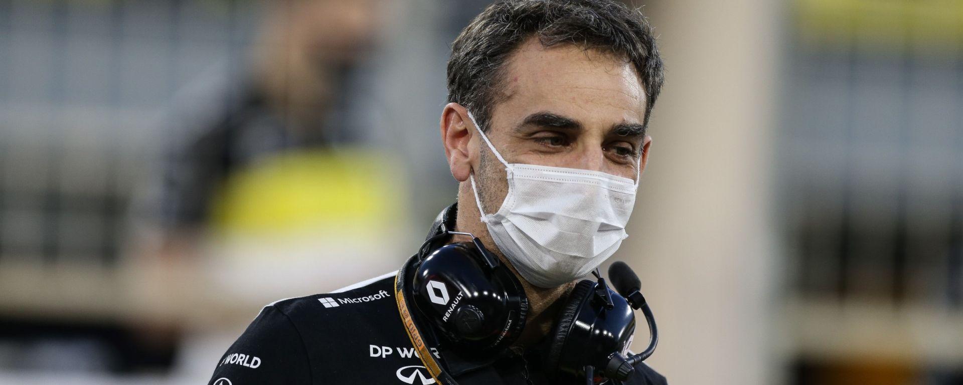 F1, GP Bahrain 2020: Cyril Abiteboul (Renault)