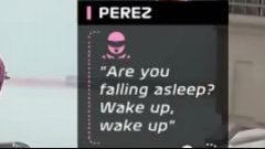F1, GP Bahrain 2020: il messaggio con cui Perez se l'è tirata