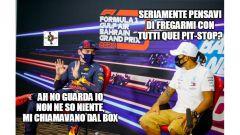 F1, GP Bahrain 2020: MV che giustifica soste