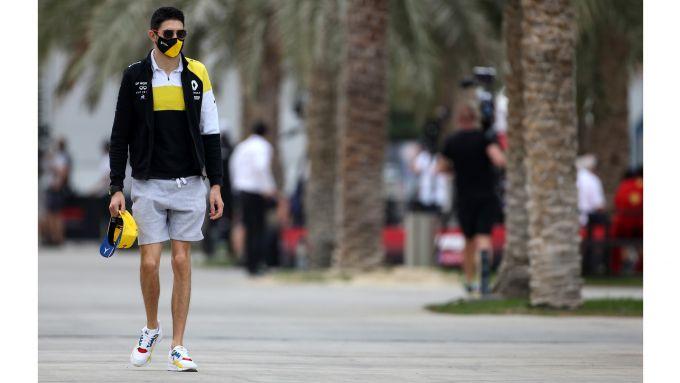F1, GP Bahrain 2020: Ocon con le scarpe della LIDL edizione francese