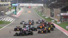 F1 GP Bahrain 2020, Sakhir: la partenza della gara
