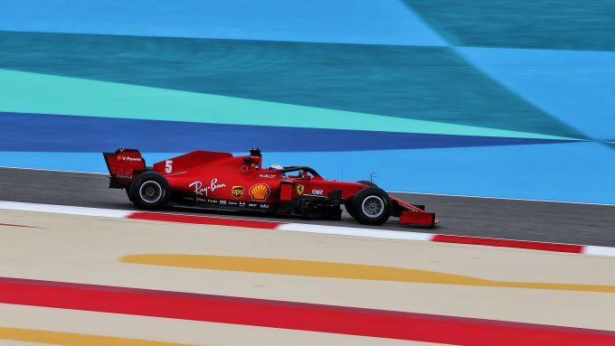 F1 GP Bahrain 2020, Sakhir: Sebastian Vettel (Scuderia Ferrari)