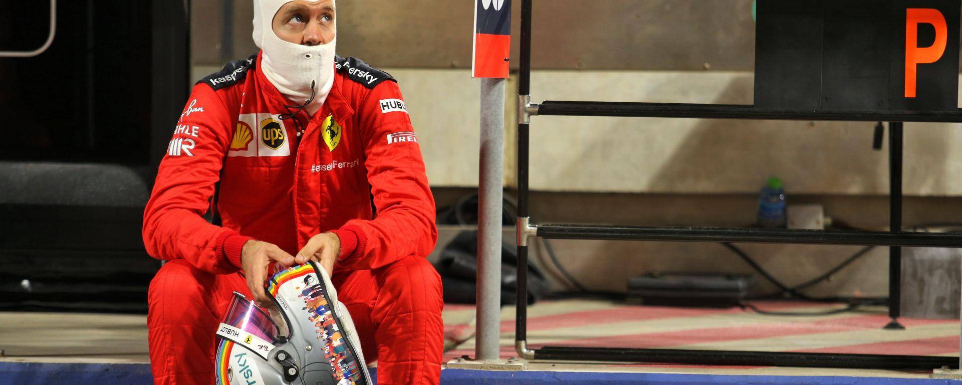 F1, GP Bahrain 2020: Sebastian Vettel (Ferrari)