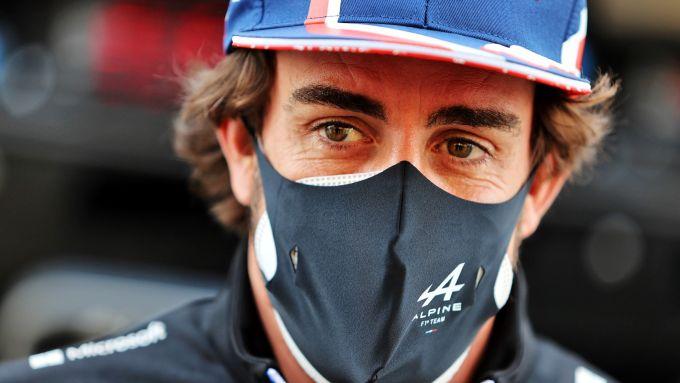 F1, GP Bahrain 2021: Fernando Alonso (Alpine)