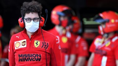 F1, GP Bahrain 2021: Mattia Binotto (Ferrari)