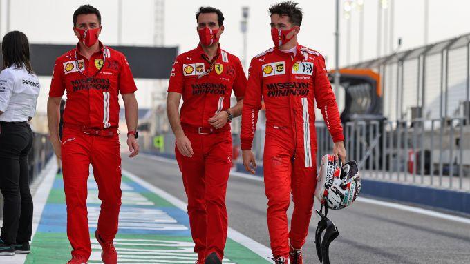 F1 GP Bahrain 2021, Sakhir: Charles Leclerc (Scuderia Ferrari)