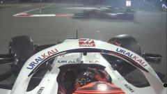 F1 GP Bahrain 2021, Sakhir: Mazepin in testacoda in Q1 viene sorpassato da Vettel