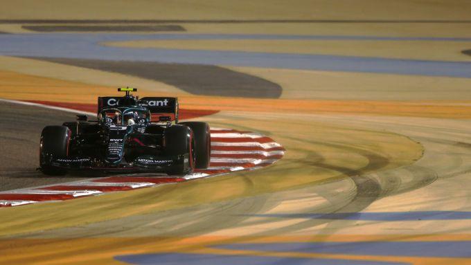 F1 GP Bahrain 2021, Sakhir: Sebastian Vettel (Aston Martin Racing F1)