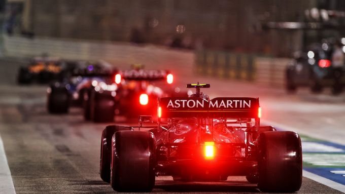 F1, GP Bahrain 2021: Sebastian Vettel (Aston Martin)