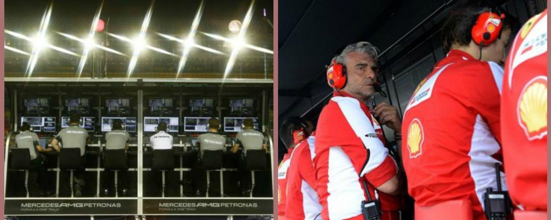 F1 GP Baku: le comunicazioni radio di Ferrari e Mercedes
