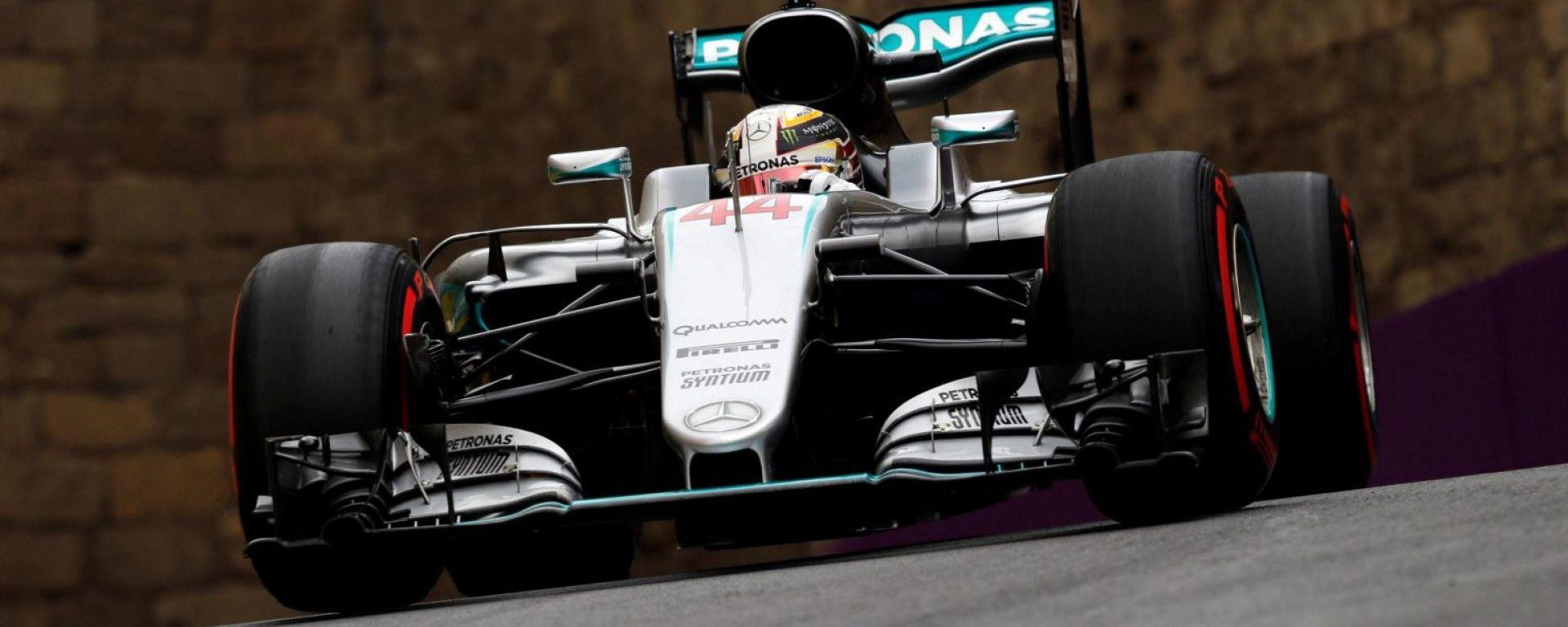 F1 GP Baku: resoconto prove libere 1