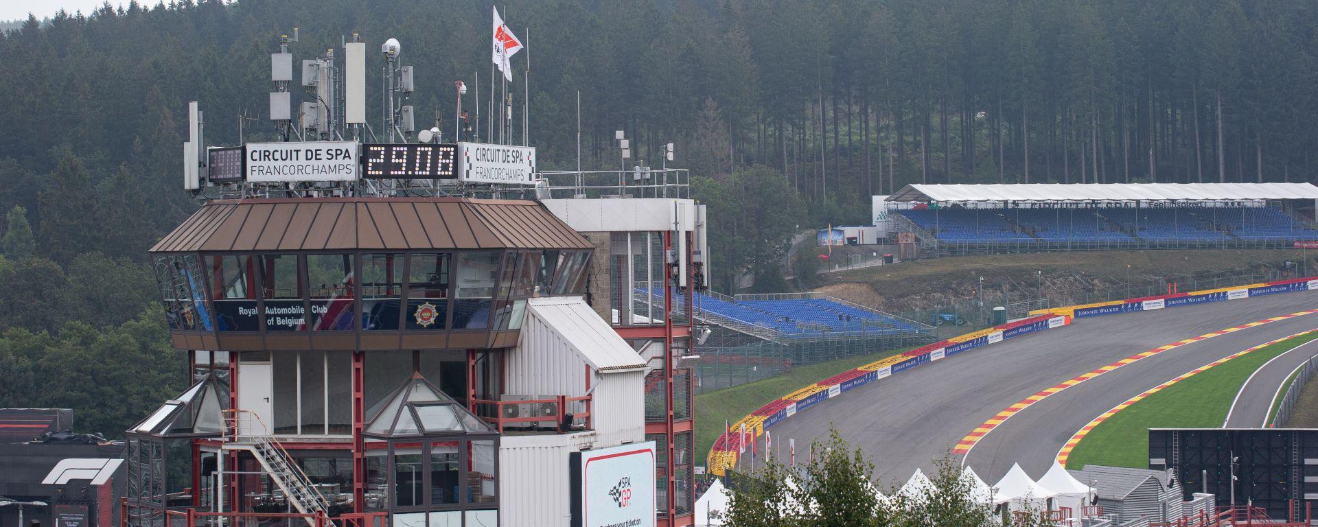 F1, GP Belgio 2019: panoramica del circuito di Spa-Francorchamps