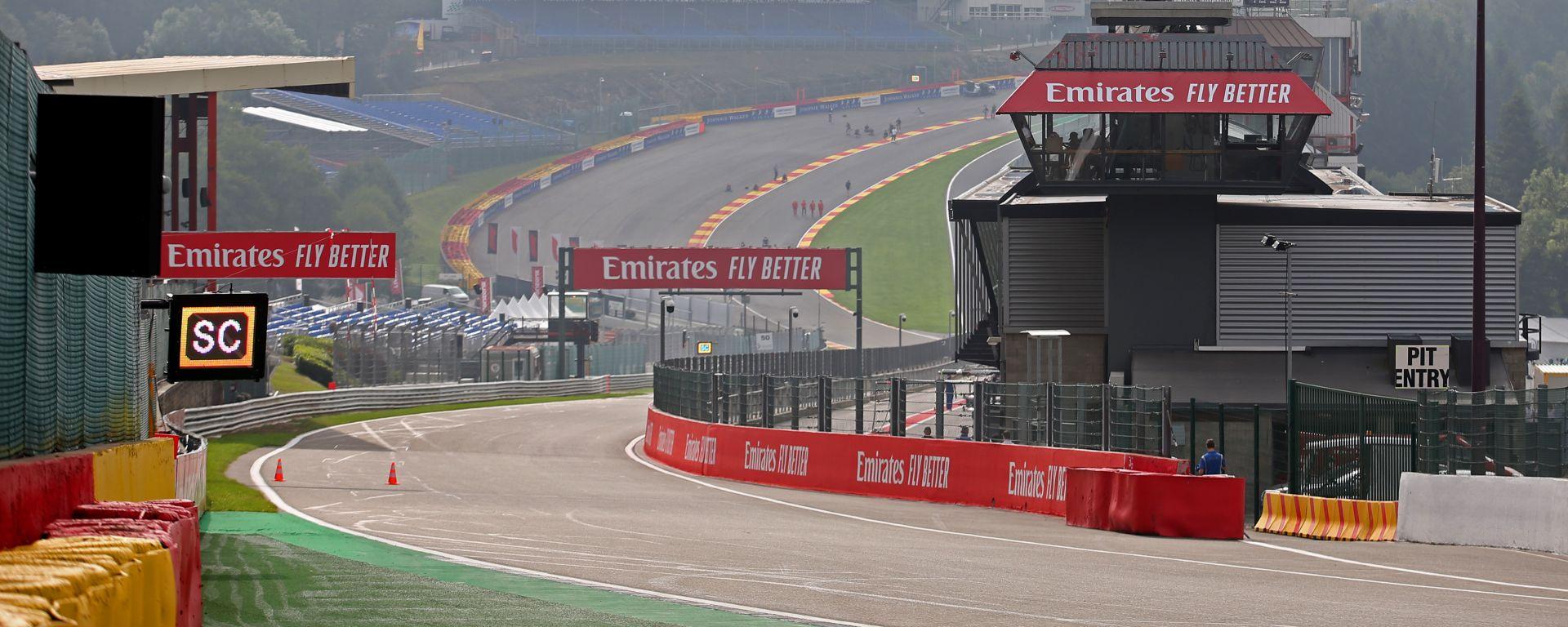F1 GP Belgio 2019, Spa: atmosfera dal circuito