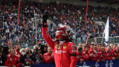 F1 GP Belgio 2019, Spa: Charles Leclerc (Ferrari) dedica la vittoria ad Anthoine Hubert