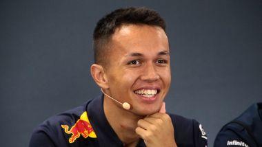 F1 GP Belgio 2019, Spa-Francorchamps: Alexander Albon (Red Bull)