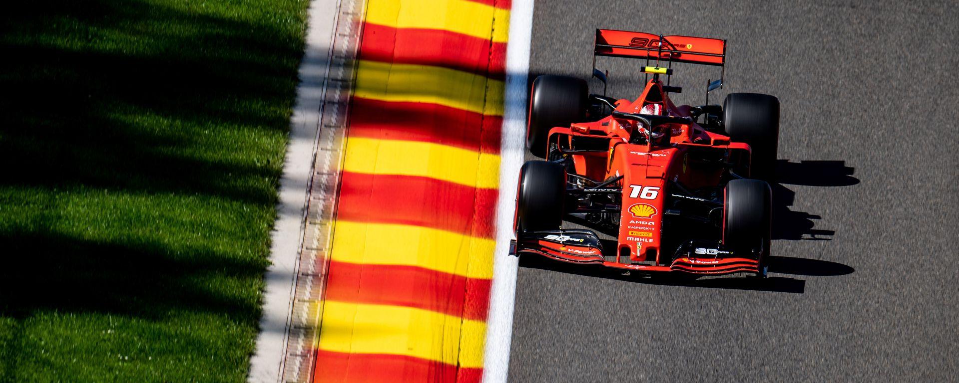 F1 GP Belgio 2019, Spa Francorchamps, Charles Leclerc (Ferrari)