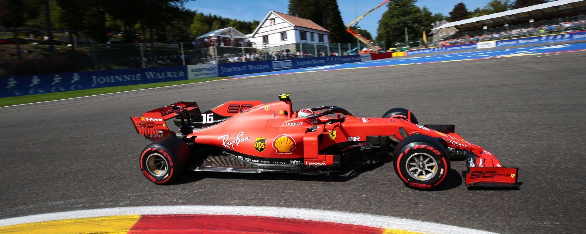 F1 GP Belgio 2019, Spa-Francorchamps, Charles Leclerc (Ferrari)