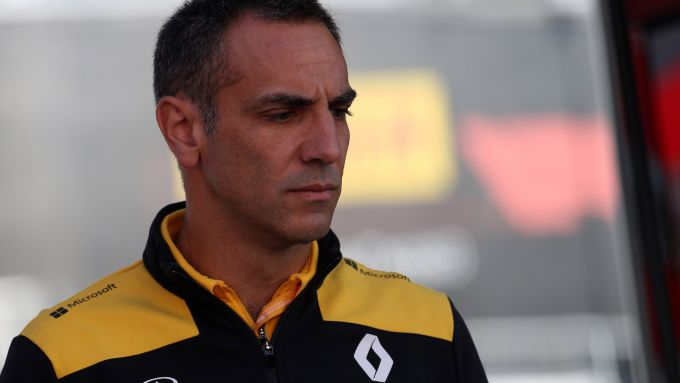 F1 GP Belgio 2019, Spa Francorchamps: Cyril Abiteboul (Renault)