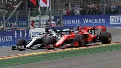 F1 GP Belgio 2019, Spa-Francorchamps, Lewis Hamilton (Mercedes) e Sebastian Vettel (Ferrari)