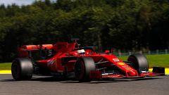 F1 GP Belgio 2019, PL1: Ferrari bene 1-2 Vettel-Leclerc