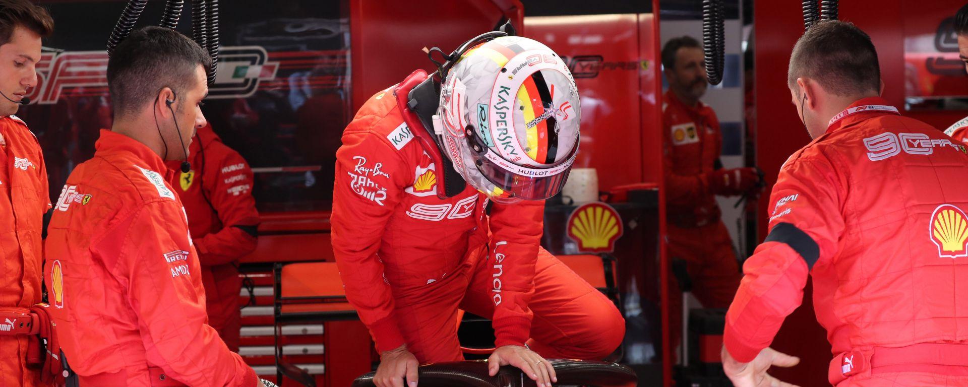 F1 GP Belgio 2019, Spa Francorchamps, Sebastian Vettel (Ferrari)