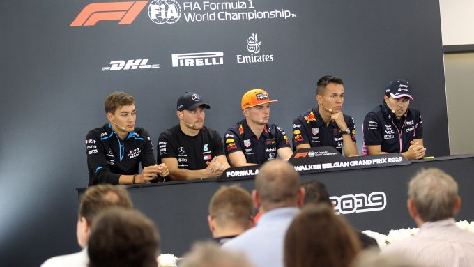 F1 GP Belgio 2019, Spa: I piloti nella conferenza stampa del giovedì