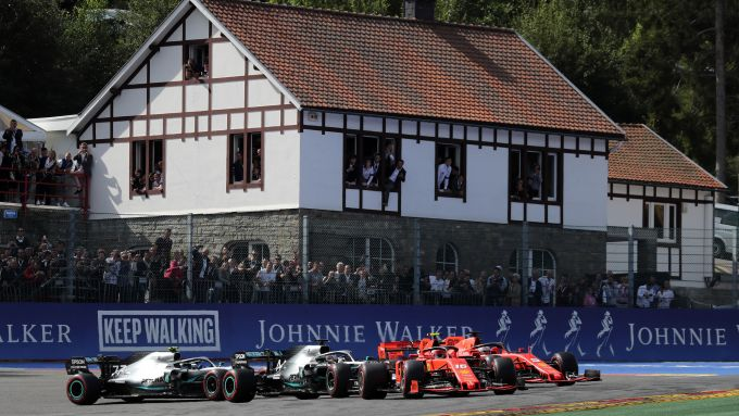 F1 GP Belgio 2019, Spa: la partenza della gara