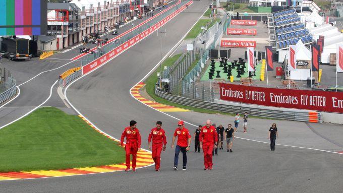 F1 GP Belgio 2019, Spa: Leclerc all'Eau Rouge